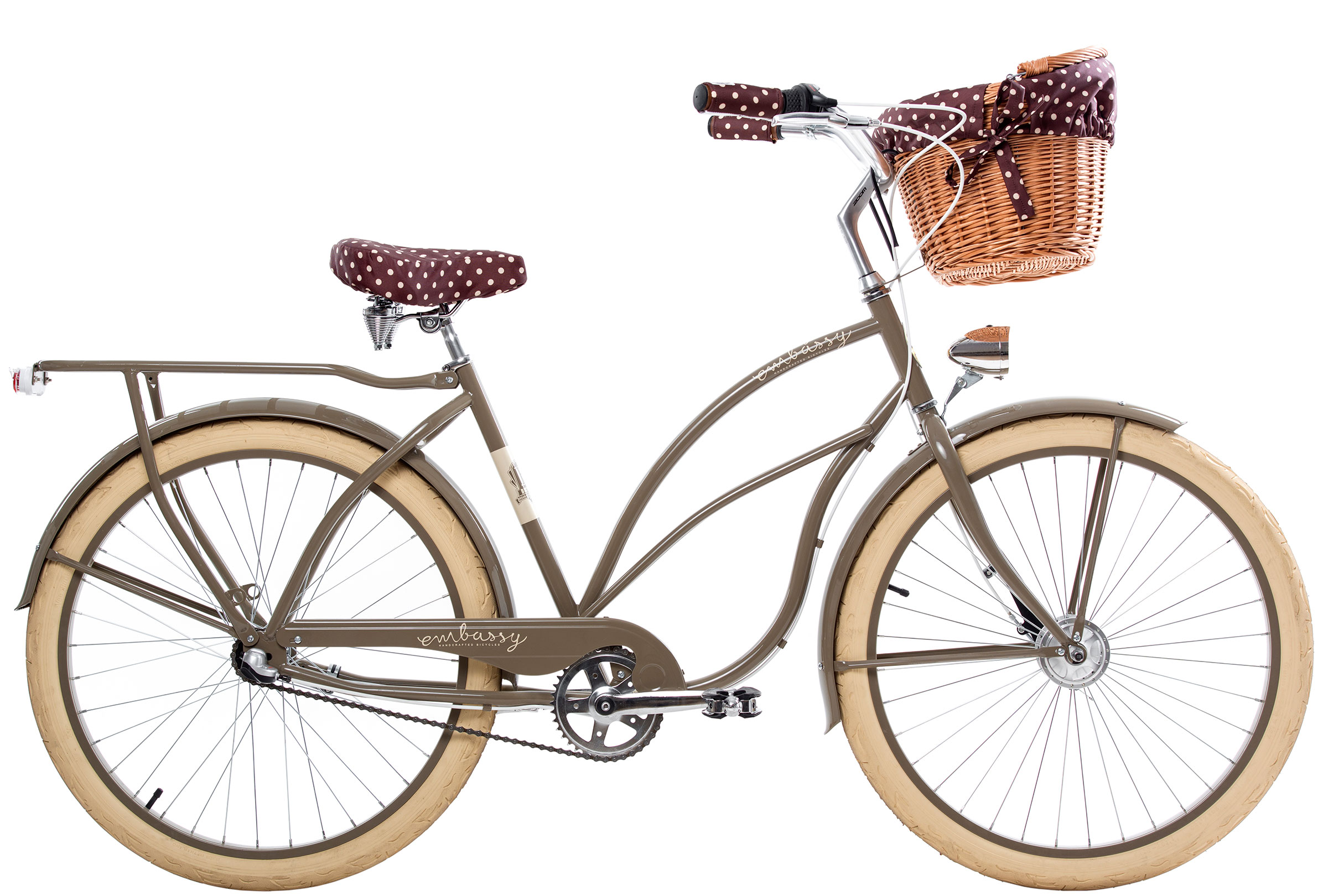 bicicleta cl sica marr n golden favoritebike. Black Bedroom Furniture Sets. Home Design Ideas