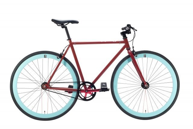 Bicicleta fixie cherry
