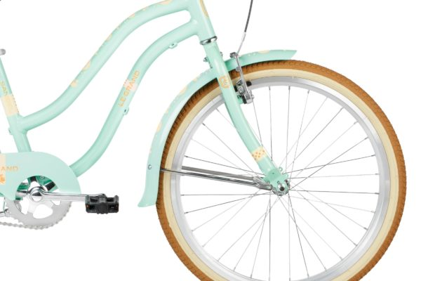 Bicicleta para niña color menta Le Grand