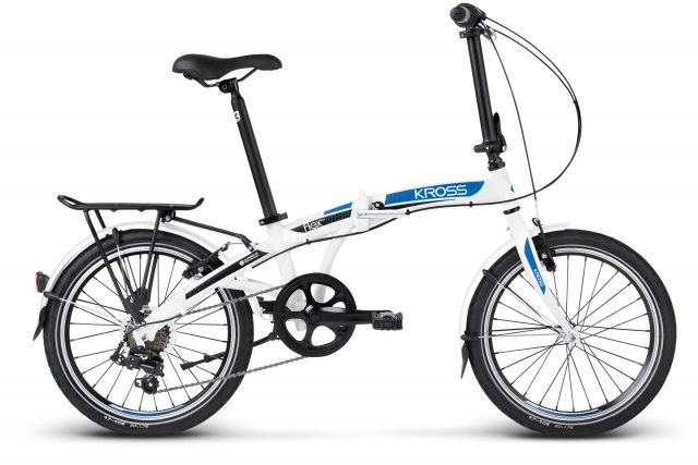 bicicleta plegable kross flex 2.0