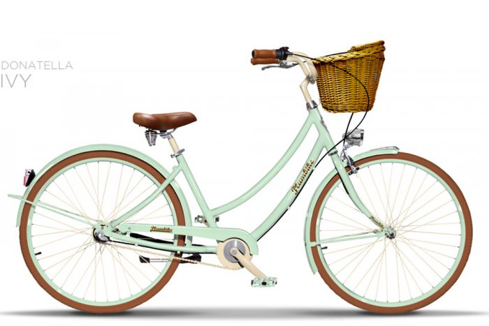 bicicleta color menta